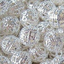 200 Piezas 4 Mm Hierro encontrar Beads-Plata-a6740