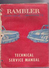 1961 RAMBLER CLASSIC 6 & V8 AMBASSADOR AMERICAN MOTORS Factory Workshop Manual