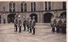 FOTO SU CARTOLINA MILITARI FASCISTI IN EX CASERMA CIALDINI REGGIO EMILIA 1-351
