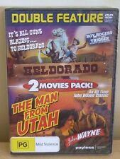 DVD :  DOUBLE FEATURE - HELDORADO / Roy ROGERS & THE MAN FROM UTAH  / John WAYNE