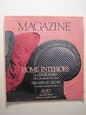 Louisville Courier Journal Magazine. 1984: Home Interiors Dinning Room Furniture