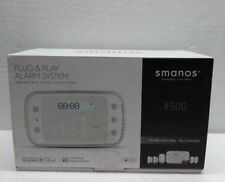 Smanos X500 Wireless GSM / SMS / RFID Communicating Alarm System with LCD Screen