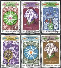 Togo 982A-987A (kompl.Ausg.) gestempelt 1973 500. Geburtstag von Kopernikus