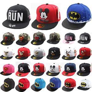Kinder Jungen Basecap Hut Kappe Sommer Mütze Superheld Mickey Baseball Cap