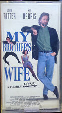 My Brother's Wife (VHS) 1994 comedy stars John Ritter-Polly Bergen-Mel Harris