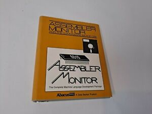 Commodore 64  Abacus Assembler Monitor Software and Manual 1984