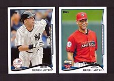 2014 NEW YORK YANKEES Complete Team Set Series 1 & 2 w/ Updates Topps 39 cards