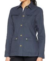 Craghoppers Women's Ariah Shirt Jacket Navy Size UK 16 (XL) *REF143