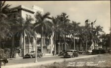 Palm Beach FL Hotel Real Photo Postcard