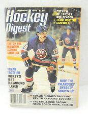 Hockey Digest Magazine Bryan Trottier November 1982