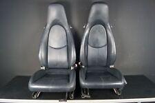 Porsche 911 997 987 Fahrersitz Beifahrersitz Seeblau