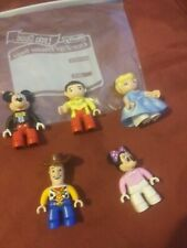 LEGO Duplo - Lot Of (5) People Mickey, and more FREE SHIPPING USPS