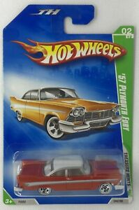 2009 Hot Wheels Treasure Hunts '57 Plymouth Fury Limited Edition Rare # 2 Of 12