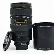 Nikon 80-400mm f/4.5-5.6 D VR AF ED Lens