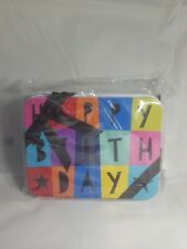 Gift Card holder - Metal Tin - 2 Pack (Happy Birthday with bows)