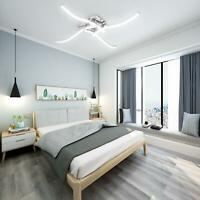 LED Ceiling Light Fixture Dimmable with Remote Control Modern Lamp For Bedroom