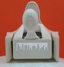 Details about   Martha Stewart CITYSCAPE edge Punch Skyline buildings border pun