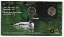 2006 RCM Official First Day One Dollar Coin Sealed Mint Mark & No Mint Mark.