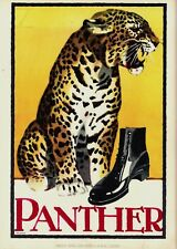 Original vintage poster print PANTHER SHOES 1926 Hohlwein