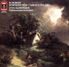 LP SCHUBERT SYMPHONY NO. 9 OTTO KLEMPERER PHILHARMONA ORCHESTRA