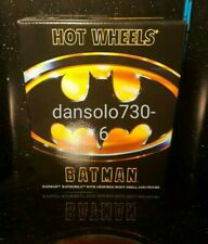 Hot Wheels Batman SDCC BATMOBILE WITH ARMORED BODY SHELL AND FIGURE MIMB