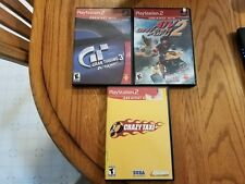 Lot Set of 3 Auto Racing Driving Car ATV Motor Sports Games PlayStation 2 PS2