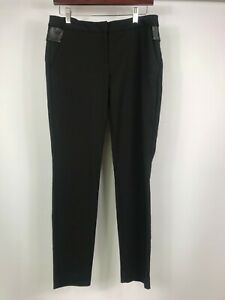 CUE size 8 NWOT's black work pants / trousers mid rise