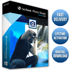 ACDSee Photo Studio Ultimate 2020 ✅ Multiple Devices 🔐 Lifetime Activation