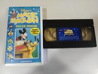 DULCE HOGAR MAGIC ENGLISH DESCUBRE EL INGLES CON WALT DISNEY VHS CINTA TAPE