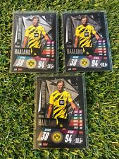 1x Match Attax Champions League 2020/21 Erling Haaland Limited silver LE9S BVB