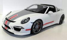 Voitures, camions et fourgons miniatures gris en résine pour Porsche