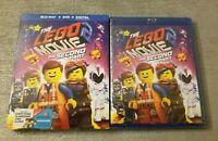 NEW The LEGO Movie 2: The Second Part BLU RAY + DVD + DIGITAL HD + SLIPCOVER