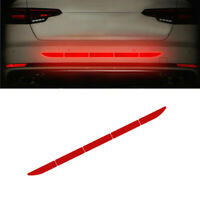 Car Auto Reflective Warn Strip Tape Bumper Car Truck Safety Sticker Decal Paster