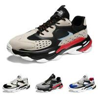 Mens Leisure Sneakers Shoes Trail Running Sports Gym Fitness Non-slip Jogging D