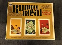 RUMMY ROYAL Card Game Set by Whitman Vintage 4804 Complete