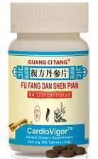Guang Ci Tang, Fu Fang Dan Shen Pian 200mg 100ct,  Cardiovigor, 200mg, 100ct.