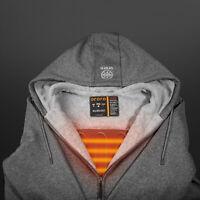 ORORO Heated Hoodies With Battery Pack Men Women Heated Fleece Sweatshirts