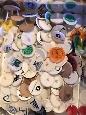 25 GOLF COLLECTORS PRIVATE/RESORT/PUBLIC COURSE GOLF BALL MARKERS