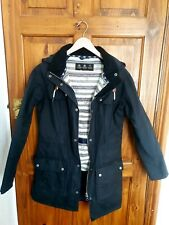 Ladies waxed barbour jacket size 8