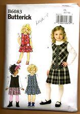 Butterick B6083 Children's/Girls' Jumper - Size CDD (2-3-4-5)