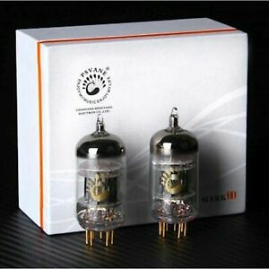 2x 12AT7 TII MARK II Gold Pin Psvane, Coppia, Pair, Duet FACTORY MATCHED, ECC81
