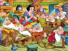Snow White and the Seven Dwarfs cross stitch pattern