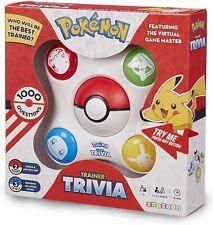 Pokémon Juego De Trivia entrenador electrónica