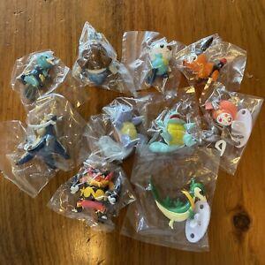 "Pokemon Tomy 2"" Figure Lot Of 10 Sealed NEW Nintendo"