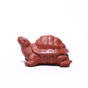 creative table decoration turtle statue small tea pet zisha tea play garden gift
