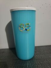 Tupperware 65 Insulated Large Blue Tumbler Cup
