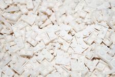 LEGO 20x WHITE FLAT PLATE CORNER BRICKS 2x2 PIN No 2420 CITY, STAR WARS, FRIENDS