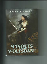 Masques and Wolfsbane by Patricia Briggs (2011, Hardcover /Dust Jacket)
