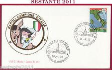ITALIA FDC ROMA LUXOR 461 NAPOLI CAMPIONE D'ITALIA 1989 - 90 1990 TORINO T77