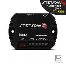 Stetsom Ir160.2 2 Channel Car Audio 160 Watts Compact Amplifier  IR 160.2